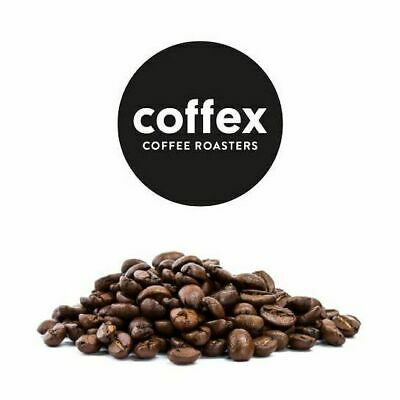 COFFEX COFFEE GROUND ORGANIC Classic Arabica Beans Smooth Decaf -ROASTED IN MELB