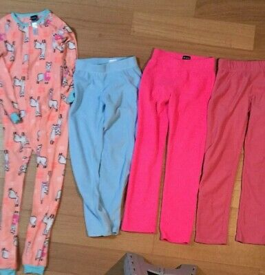 Lot Of Three Pairs Of Children's Place Pants Size Large 10 To 12. And Llama PJs
