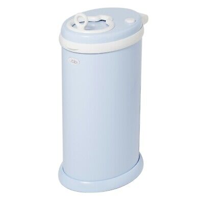 Ubbi Nappy Bin Diaper Pail Light Blue