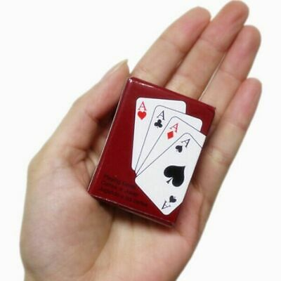 Texas Hold'em Mini Cute Poker Home Decoration Poker Cards Playing Game Creative