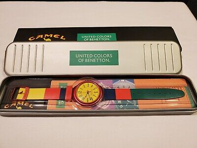 United Colors of Benetton Camel cigarettes watch