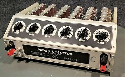 Clarostat 240-C Power Resistor Decade Box