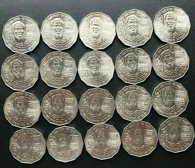 Lot Of 20 X 2017 50 Cent Coin Pride & Passion Eddie Mabo Free Post