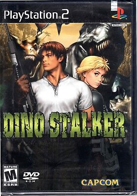 Dino Stalker (Sony PlayStation 2 2002) BRAND NEW  FACTORY SEALED DINOSTALKER PS2