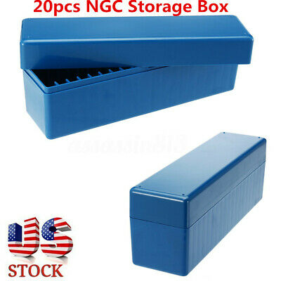 Certified Coins Box Tray Drawer 9 Slab Holders Stackable PCGS NGC Storage
