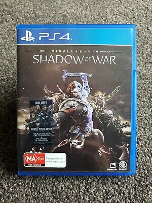 Middle Earth Shadow of War PS4 Game Sony PlayStation 4 #30 Day Warranty#
