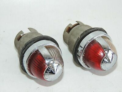 Paire feux position complets MARCHAL n°10 (Pair complete parking lights)