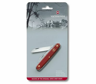 🌟🌟🌟 3.9050.B1 Victorinox Ecoline Floral Pocket Knife 95Mm Red 1 Function