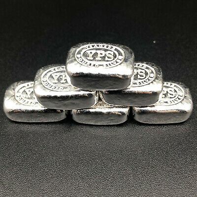 1/2 Oz Chunky Bar - Yps Yeager Poured Silver - 999 Fine Silver Bullion #21