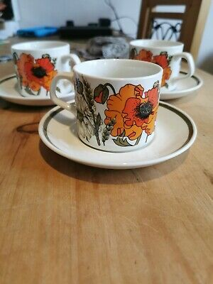 Vintage tea cup and saucer sets