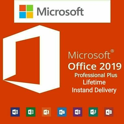 Microsoft Office 2019 Professional Plus Lifetime Genuine Licence Key