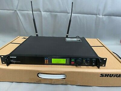 Shure UHF-R Wireless UR4S (suffix R9) 790-865 MHz Receiver/Single Channel (GN)