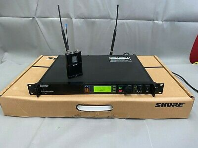 Shure UHF-R Wireless UR4S  Receiver/SIngle Channel with UR1 (GN)