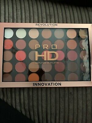 Makeup Revolution Innovation Pro HD Amplified Eyeshadow Palette 35 Shades BNIB