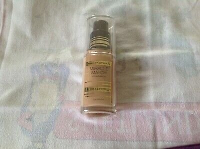Max Factor Miracle Match Foundation Golden 75 SEALED