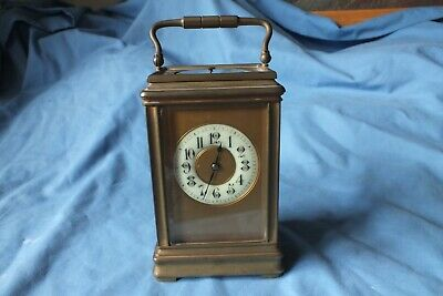 Antique French Aiguilles Striking & Repeating Carriage Clock