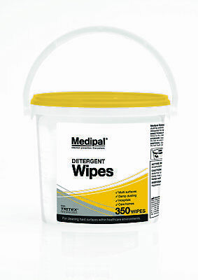 Medipal Detergent Wipes - 1 x 350s