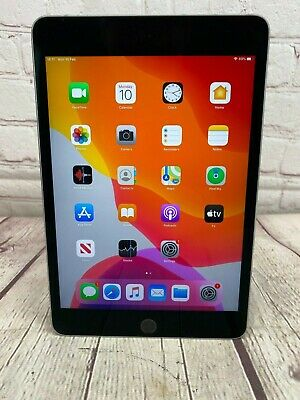 Apple iPad mini 4 64GB, Wi-Fi, 7.9in Space Grey *Chipped & Scratched*