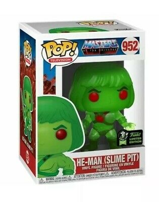 FUNKO POP! ECCC 2020 He-Man Slime Pit SHARED EXCLUSIVE PREORDER