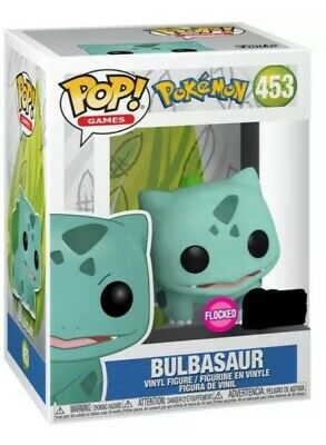 FUNKO POP! Bulbasaur Flocked ECCC 2020 Shared Exclusive PREORDER