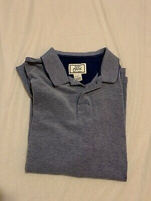 Jos A Bank Men's Blue 1905 New Tradition Size Medium Polo Shirt Tailored Fit