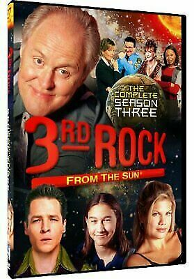 3rd Rock from the Sun - Season 3 (DVD, 2012, 3-Disc Set) New Sealed Ships Free!!