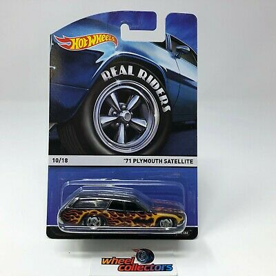 '71 Plymouth Satellite * Hot Wheels Heritage Real Riders * WJ4
