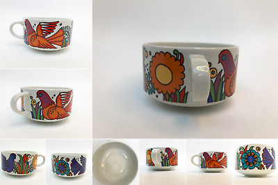 Vintage Villeroy & Boch Acapulco Coffee Cup - 4 available