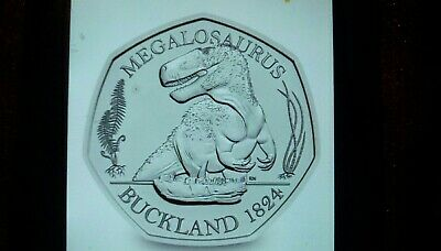 DINOSAUR 50p Coin 2020 MEGALOSAURUS ROYAL MINT NEW RELEASE