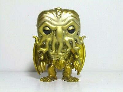 Cthulhu Gold Funko Pop Loose Figure H.p. Lovecraft Call Of Cthulhu