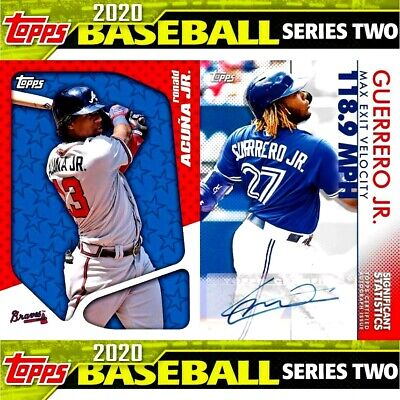 2020 Topps Series 1 Baseball  Complete Your Set 1-350 You Pick 10 From List