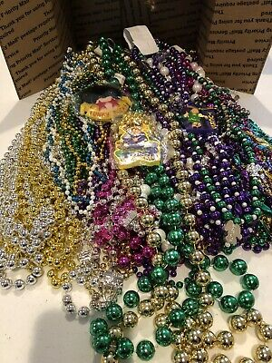 Authentic New Orleans Parade MARDI GRAS Beads Necklaces Assorted Tucks Babylon