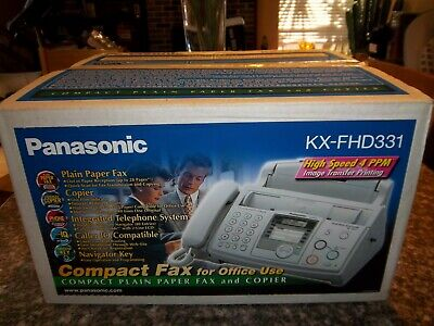 Panasonic KX-FHD331 Compact Plain Paper Fax And Copier Telephone System