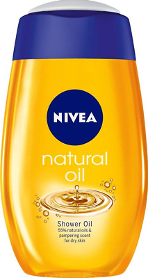 NIVEA doccia schiuma natural oil 200 ml