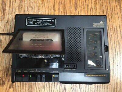 Marantz PMD430 Vintage Audiophile Stereo Cassette Recorder with case