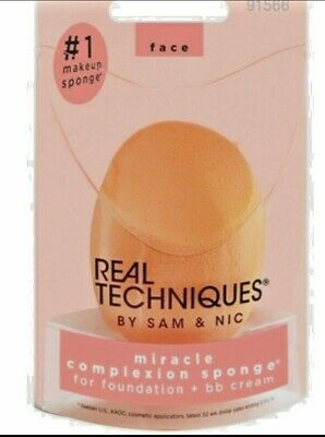 Real Techniques Miracle Complexion Sponge New Version Retail Boxed