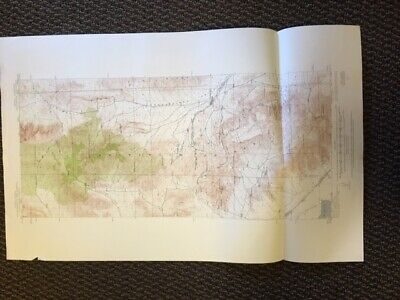 Vintage USGS Goodsprings Nevada California 1916 Topographic Map 1:62500