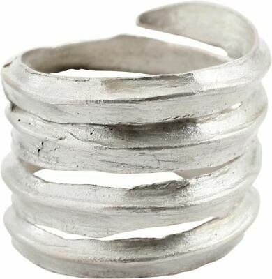 Ancient Viking Coil Ring 9Th-10Th Century Size 10 ¼