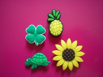 Clog Charm Shoe Plug Button For Accessories For Bracelet Turtle Sun Flower
