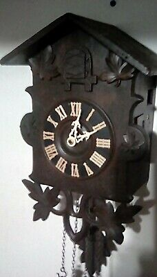 Rare Antique Cuckoo Clock