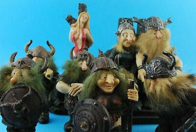 Collection of Viking Figures 4 Kilograms Boxed