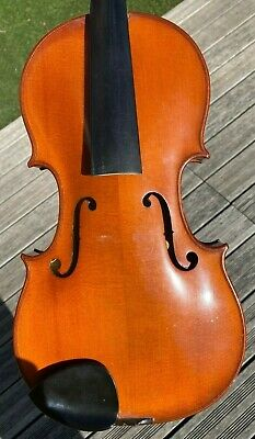 Old French Violin Amati style Stradivarius label excellent condition