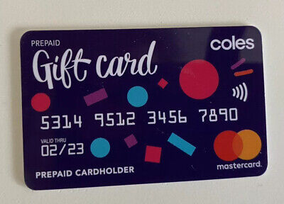 Coles Little Shop 2 Mini Collectables - Gift Card