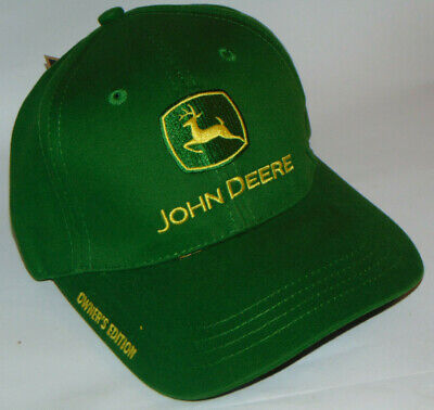 "New John Deere ""Owner's Edition"" Strapback Hat! Embroidered! New With Tag!"