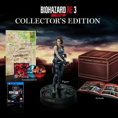 Deposit of PS4 Resident Evil 3 Remake Collector's Edition Japan version