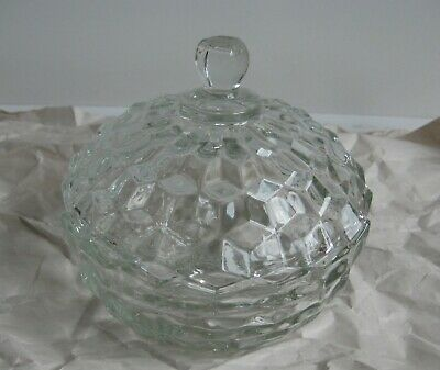 indiana white hall covered candy dish