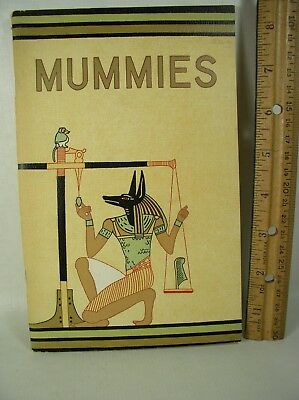 Mummies by Richard A Martin 1957 Chicago Natural History Museum