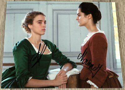 PORTRAIT OF A LADY ON FIRE NOEMIE MERLANT ADELE HAENEL SIGNED 8x10 PHOTO w/PROOF