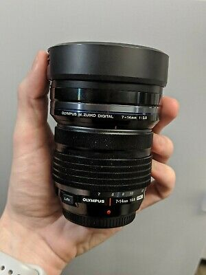 Olympus M.Zuiko 7-14mm f/2.8 Aspherical AF ED Lens Micro four thirds m4/3