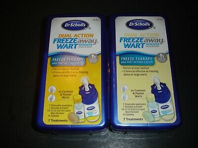 2 Dr Scholl's Freeze Way Wart Remover, New Sealed Read Comments